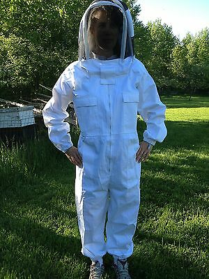 Full Bee Keeping Suit Heavy Duty New Size Small Free Gloves Free Shipping