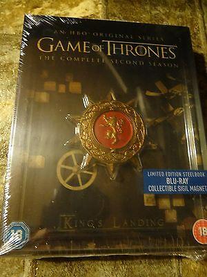Game Of Thrones  Season 2 Blu Ray Steelbook Region Free