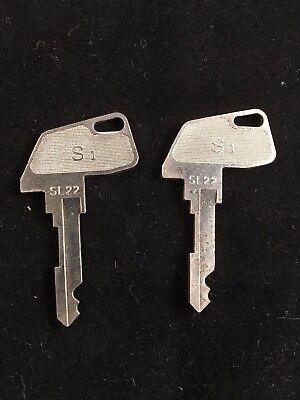 Tec Cash Register S1 Key Sl22 Set Of 2