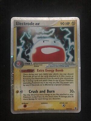 Electrode EX HOLO Pokemon LeafGreen & FireRed 1 RARE 107/112 — Great Condition