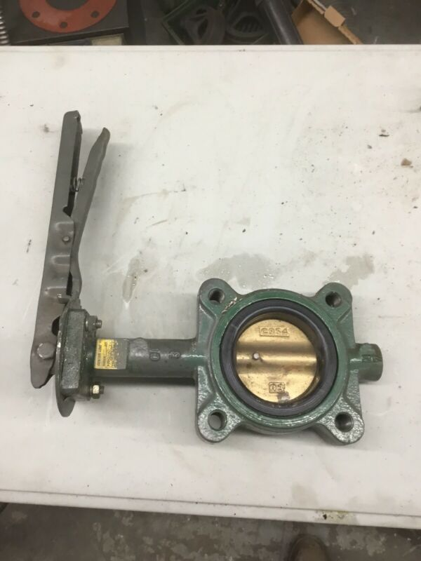 "Center Line Series 200 3"" Butterfly Valve 4 Bolt 200PSI"
