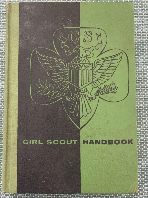 Girl Scout Handbook Hardcover Books 1953
