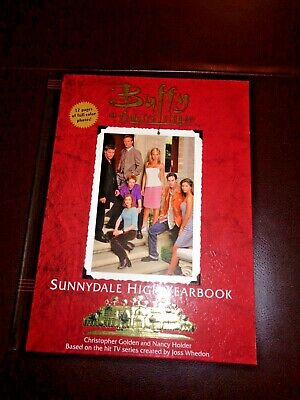BUFFY THE VAMPIRE SLAYER SUNNYDALE HIGH YEARBOOK 1999 NEW!! 1st EDITION HB
