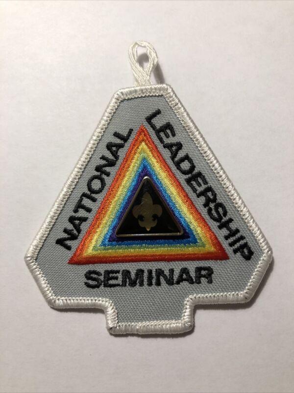 "OA (BSA) National Leadership Seminar NLS Participant Patch & ""Completion"" Pin"