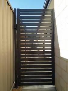 Customized Aluminium slats Weldless pedestrian gate from $420