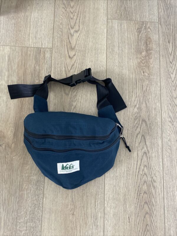 Vintage 90's REI Waist/Fanny Pack Hiking Bag Turns into backpack double zip