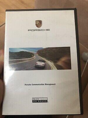 2003 2004 Porsche Boxster S Navigation CD EAST & WEST Coast Map