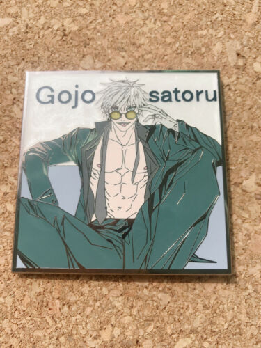 Gojo Satoru Jujutsu Kaisen Metal Badge Brooch Pin Collection Cosplay Gift Anime