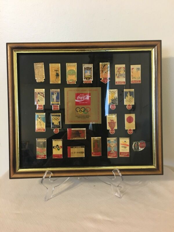 Coca-Cola Olympic Pin Collection