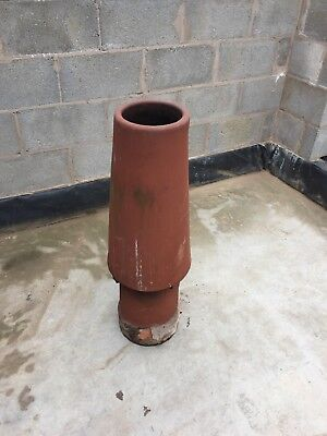 Reclaimed  Vortex Terracotta chimney pot