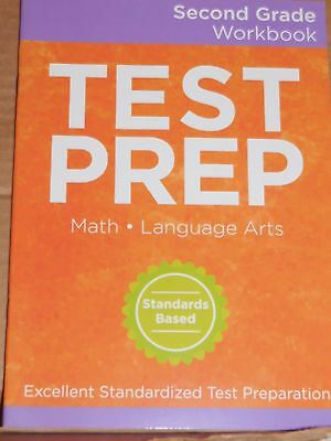 Second Grade 2 Workbook Math Language Arts Test Prep