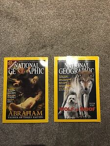 Free National Geographic Magazines from 2001-2002