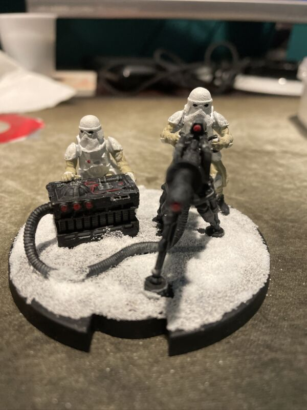 Star wars legion painted e-web heavy blaster