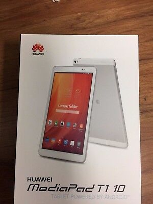 Inbox New Huawei Mediapad T1 10 0 Quad Core 9 6  Android Silver Gsm Unlocked