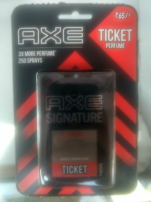 AXE Signature Intense Ticket Body Perfume Easy to Carry 250 Sprays - 17 ML