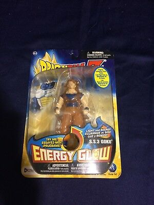 Dragon Ball Z Energy Glow Ss3 Goku Action Figure