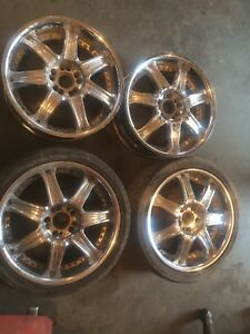 "18"" universal 5 bolt rims rims $200 text 902 223 2108"