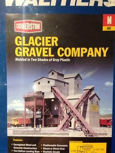N scale walthers glacier gravel co.