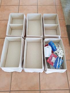 6 storage baskets