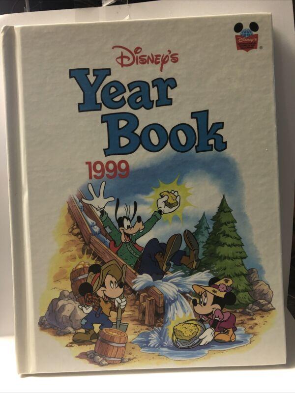 Disney Year Book 1999 Hardcover Disneyana Scholastic Hard Cover MINT