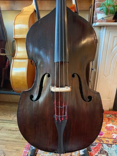 19th Century Tyrolean upright bass