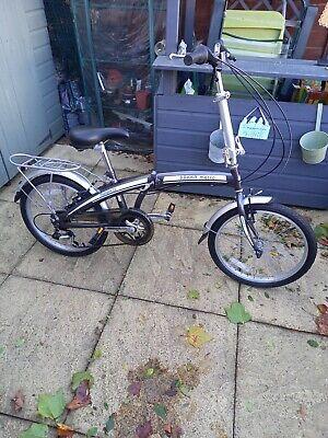 "Ammaco Pakka 20"" Alloy Folding Bike - Black (1F2687)"