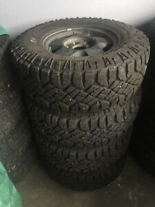 GMC 6-139.7mm Wheels On LT265/75R16 Goodyear Wrangler Duratrac
