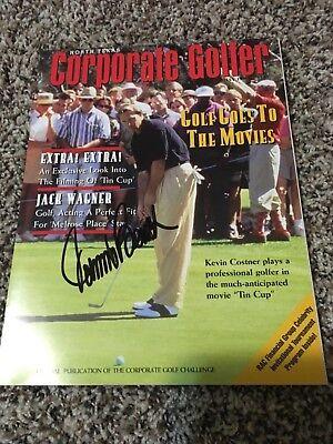Johnny Bench Signed Autographed Celebrity Golf Tournament Program Reds