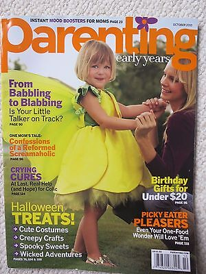 Parenting Early Years Magazine October 2010 Halloween Treats Cute Costumes](October Halloween Cute)