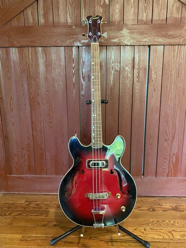 CONRAD japan Hollowbody bass/Cherry Red/Vintage