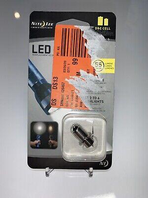 Nite Ize LED Upgrade Kit for C or D-Cell Flashlights 55 Lumens Shock Resistant