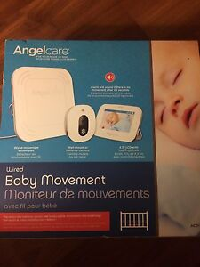 Angel Care Baby Monitor w/LCD touch screen