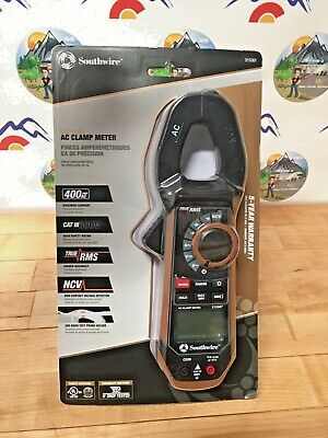 Southwire 21550t Professional True Rms Acdc Clamp Meter Cat Iii 600v Ships Free