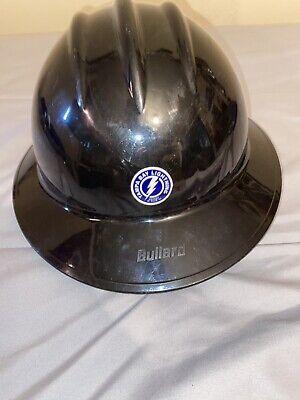 Black Safety Full Brim Helmet Tampa Bay Lightning Hard Hat Construction Hat
