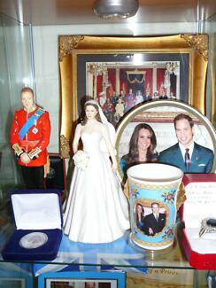 Royal Doulton Prince William & Catherine Middleton Figurines Fulham Gardens Charles Sturt Area Preview