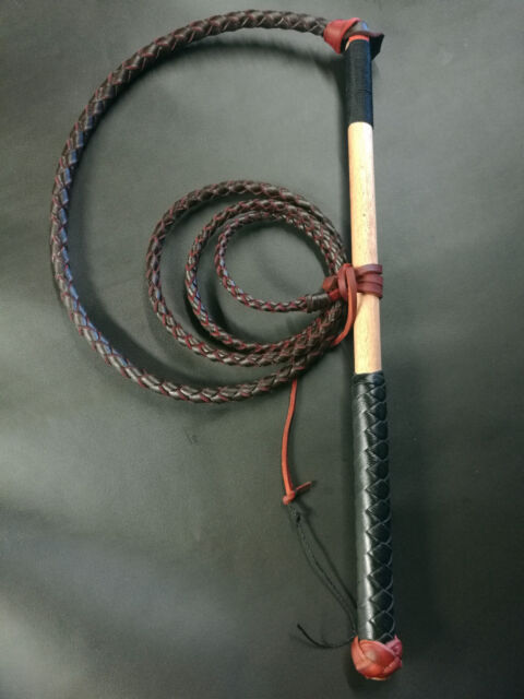 6ft RedHide Stock Whip Stockwhip, conditioner, fall and 6 crackers, free post