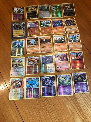 Lot Of 25 Rare Pokemon Cards