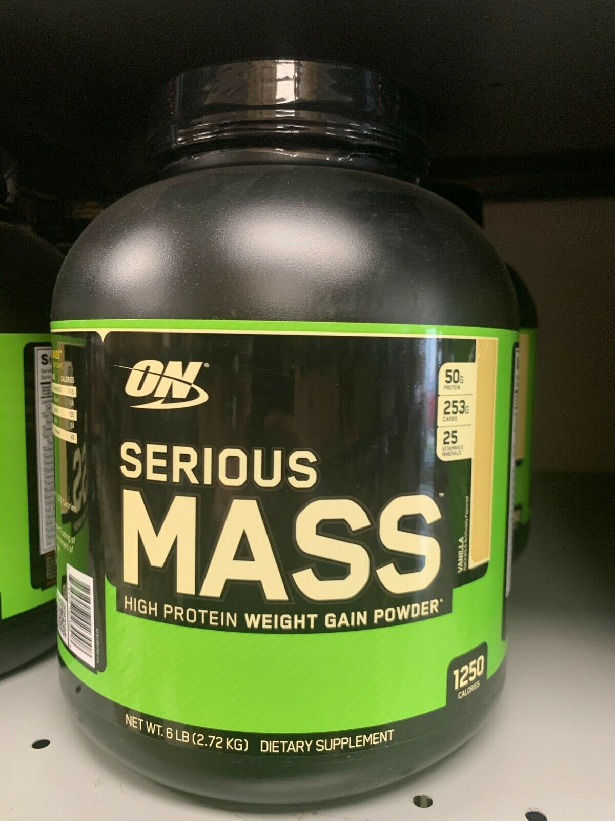 Optimum Nutrition Serious Mass 6lbs -PICK FLAVOR- **Fast Fre