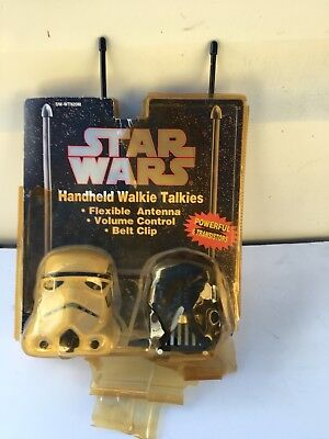 Star Wars Handheld Walkie Talkies Darth Vader Stormtrooper  for sale  Shipping to India