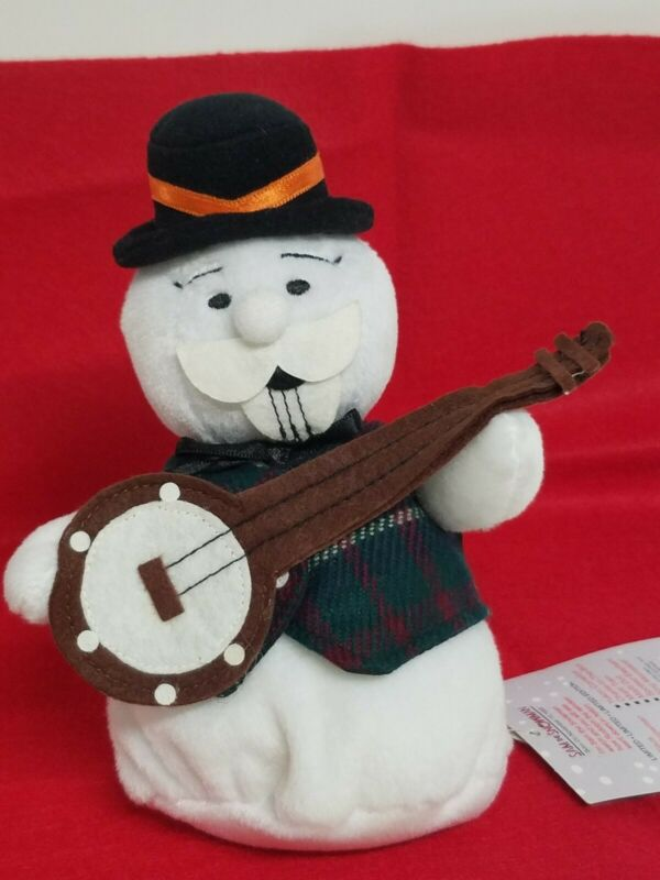 """Sam The Snowman The Island Of Misfit Toys Rudolph Limited Edition 1998 Plush 7"""""""