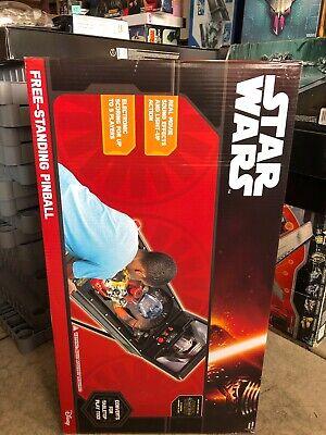 NEW Star Wars Free Standing 2 In 1 Pinball Machine Game