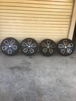 Tyres and rims 245/45/20