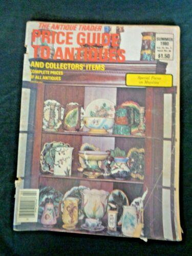 Antique Trader Price Guide To Antiques Magazine 1980 Majolica Zsolnay Satsuma