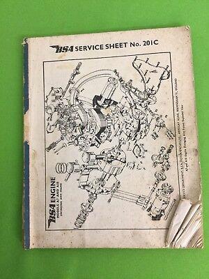 BSA Service Sheets No 202 - No 813A