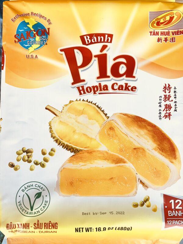 Saigon Bahn Pia Hopia Vegetarian Cake 16.8 Oz - 12 Pack