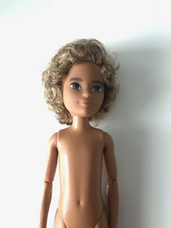 Creatable World Nude Doll For Customization or Replacement Black AA Doll