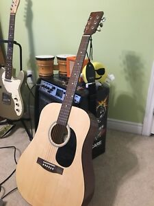 Academy D-2 acoustic guitar