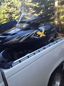 2002 Polaris Edge X 800 for trade
