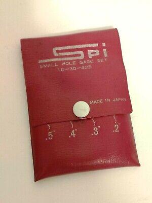 Spi 30-425-3 Small Hole Gage Set 1.25-.500 Machinist Mechanic Tool