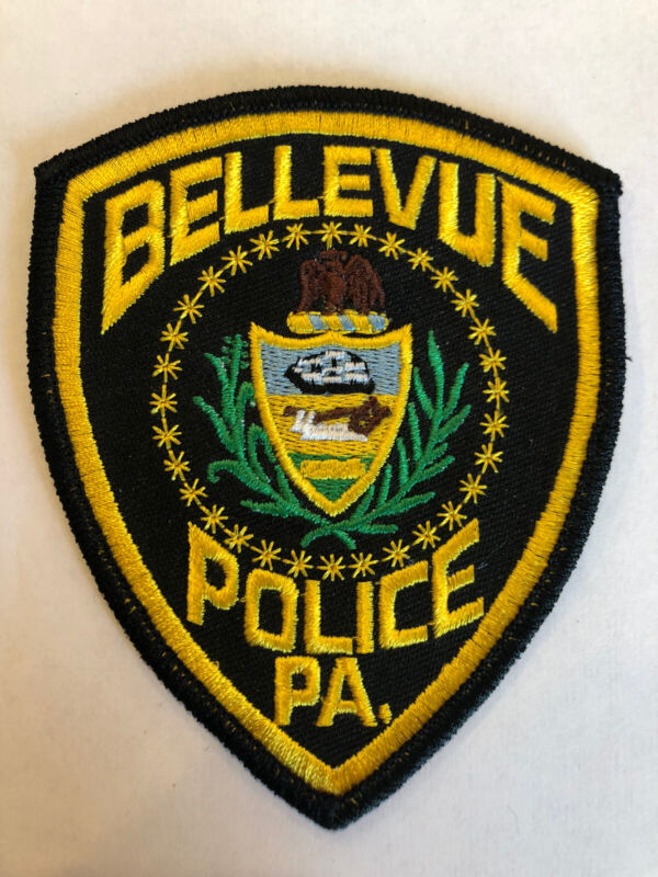 Bellevue Pennsylvania Police Patch ~ New Condition